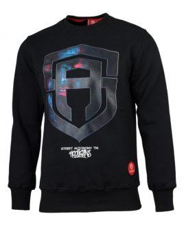 b04207eb7ff7 Sweater without hood Street Autonomy Madface black